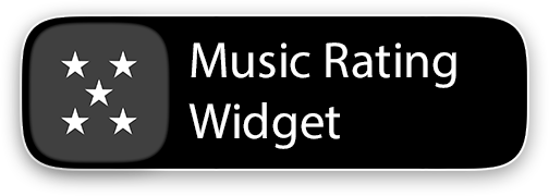 Music Rating Widget
