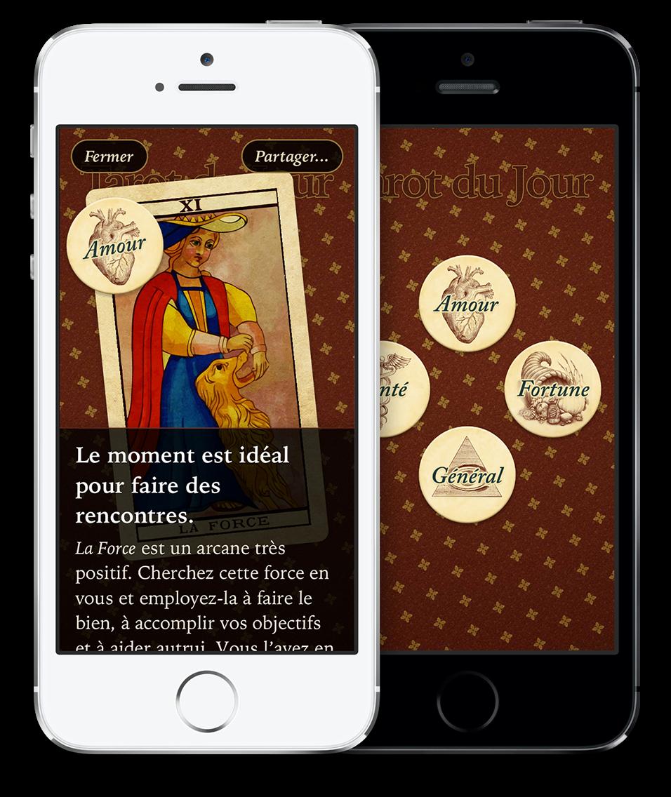 4134c87a8f6592 Tarot du Jour   Un tirage des tarots simple et rapide pour iPhone et iPad